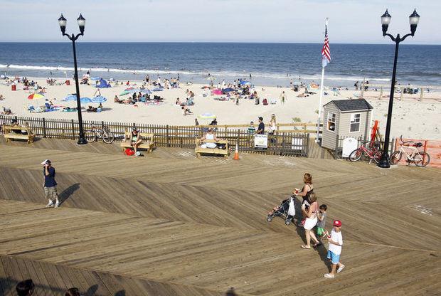 Seaside Heights, NJ Boardwalk
