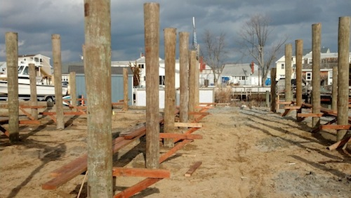 Modular Home Building Process Pilings