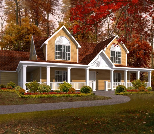Cape Cod Modular Home Floor Plan