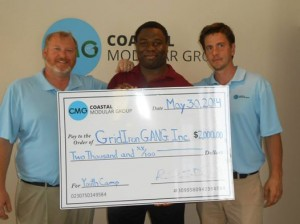 NJ Modular Home Company Football Donation