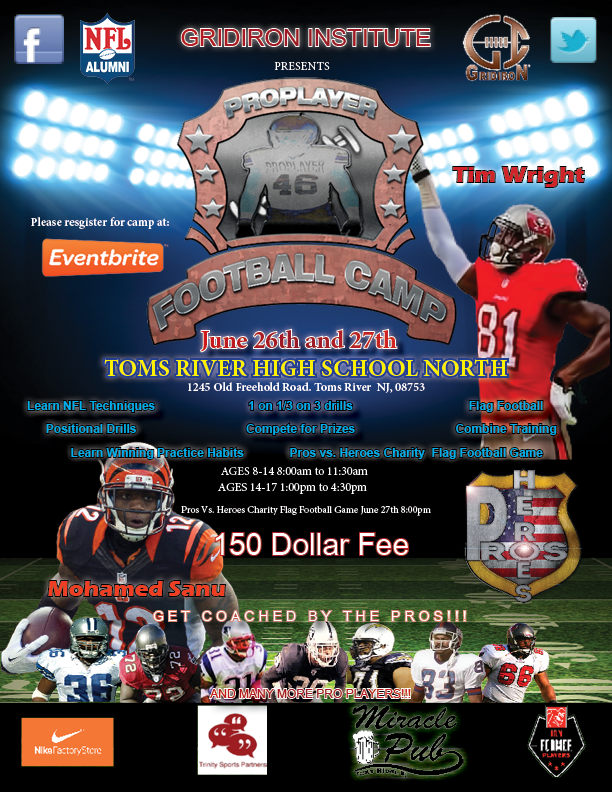 NJ Modular Home Professional Football Camp