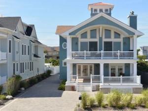 Front of Modular Home in Sea Bright NJ